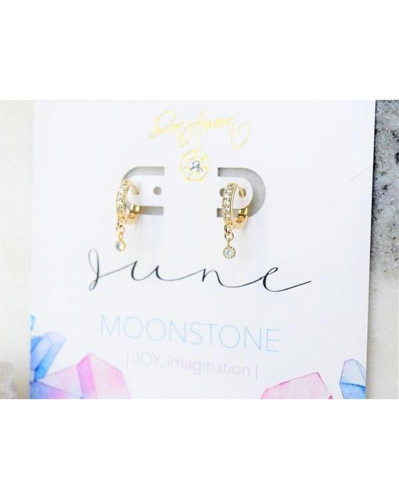 Rory Ashton Rory Ashton Birthstone Huggie Earring