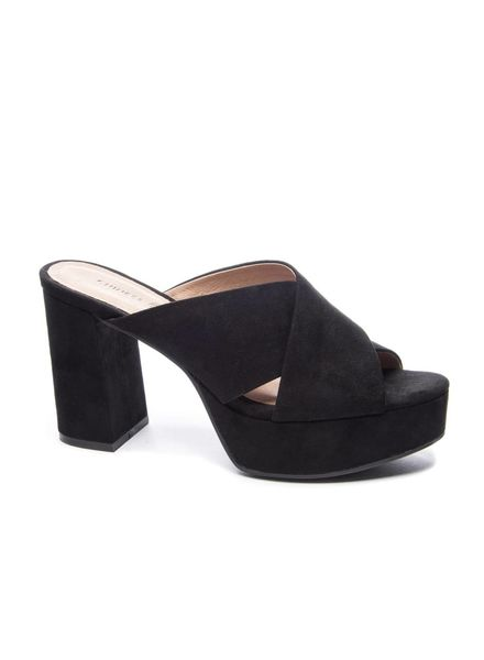 Chinese Laundry CL Teagan Suede Black Shoe
