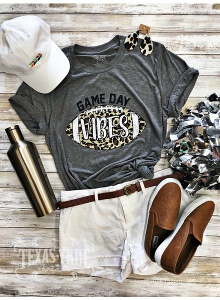 MISC Texas True Game Day Vibes Grey