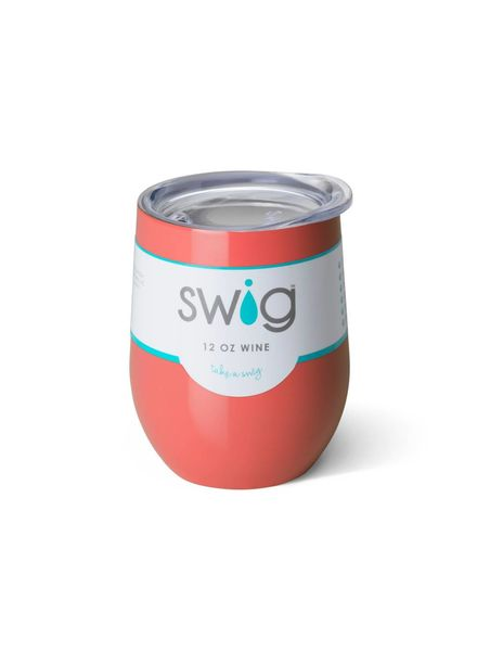 SWIG SWIG Stemless Wine Cup Coral