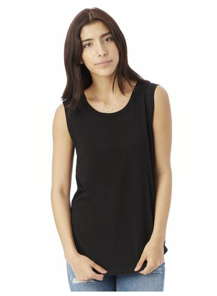 Alternative Apparel Alternative Cap Sleeve Tank Black