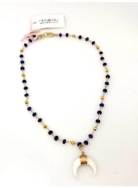 Nikko Blu Nikko Blu Wren Purple Bead with Horn