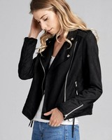 Wendy WEN Moto Poly Jacket Black