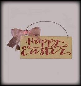 Country Cupboard Happy Easter Sign Sparkle