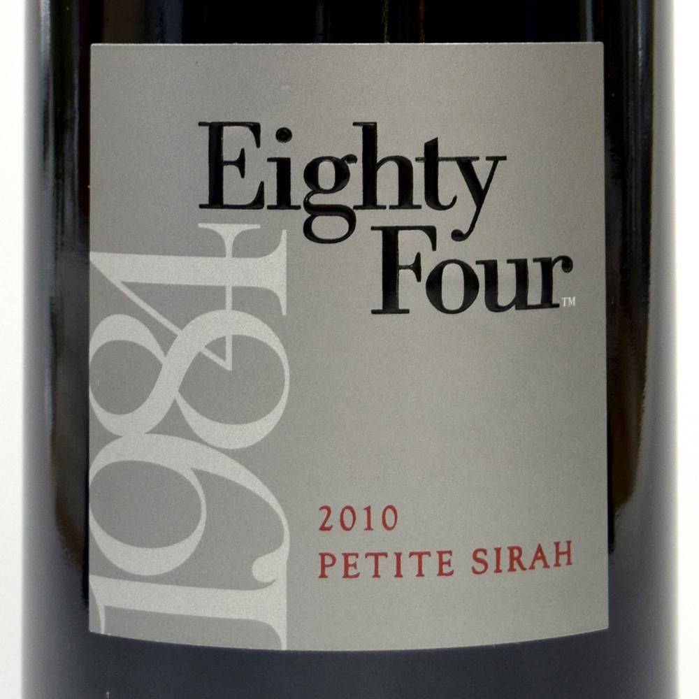 Eighty Four Napa Petite Sirah 2010