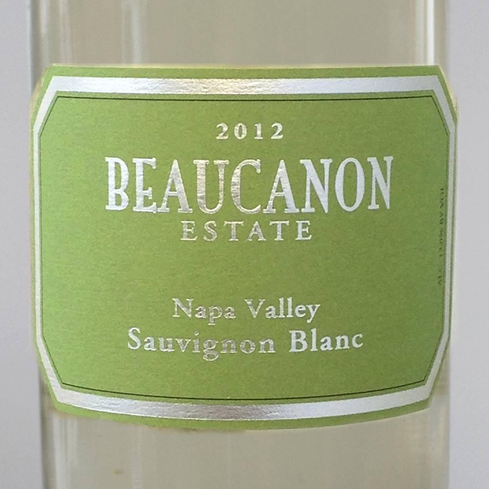 Beaucanon Sauv Blanc 2012