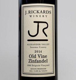 J Rickards Old Vine Zinfandel 2014