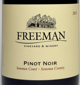 Freeman Sonoma Cst Pinot Noir 2014