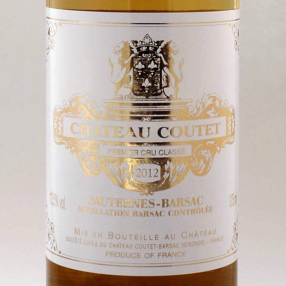 Chateau Coutet Sauternes Barsac '12