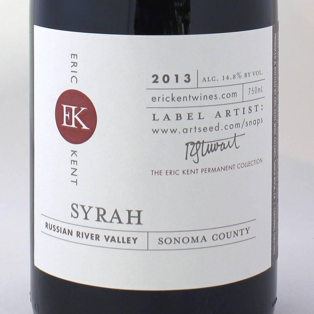 Eric Kent RRV Syrah 2013