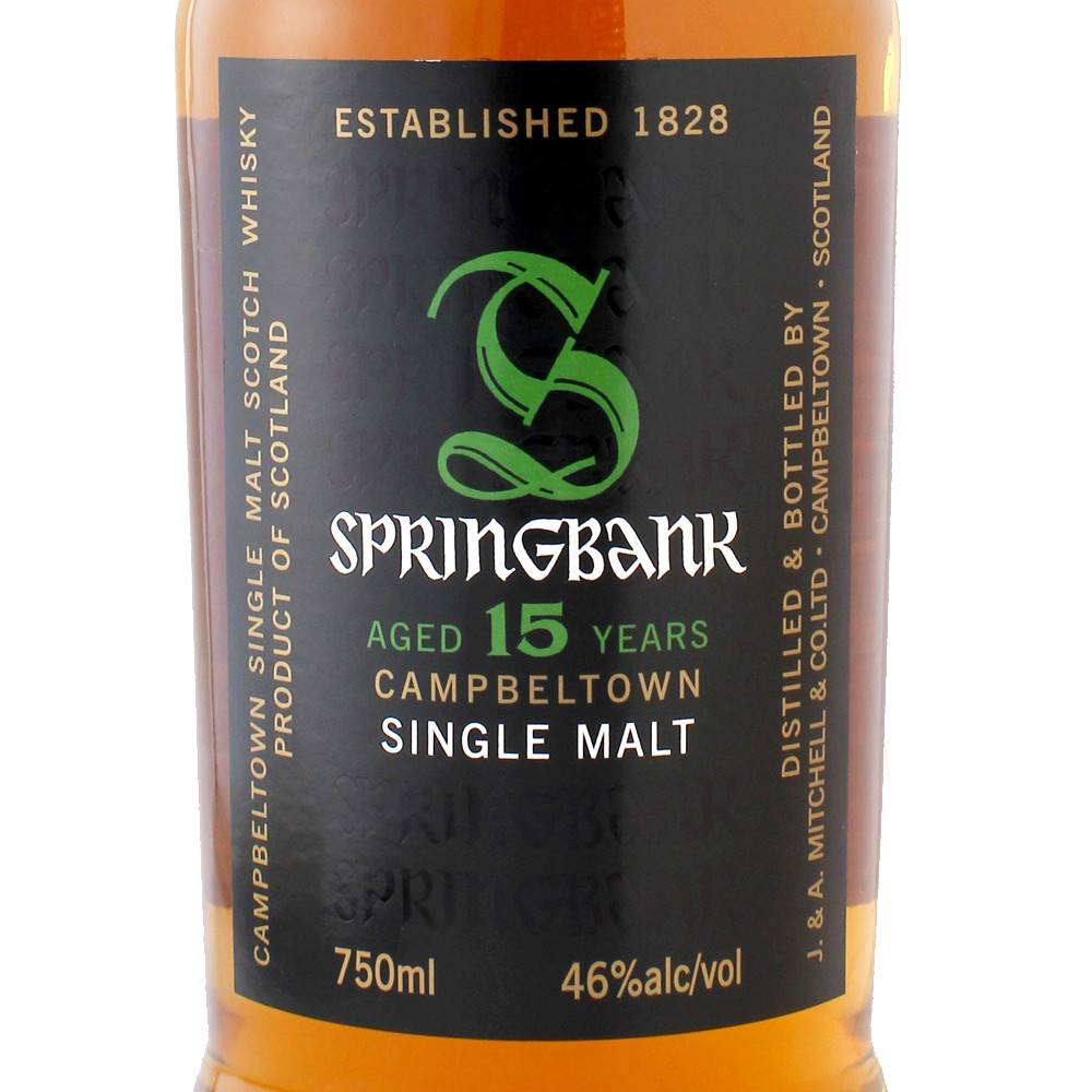 Springbank Campbeltown Single Malt 15 Yr