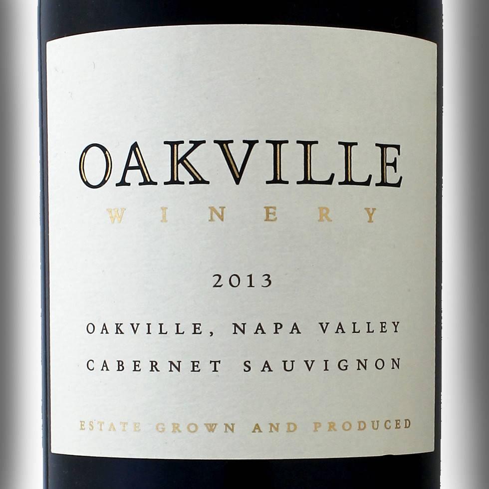 Oakville Winery Cabernet Sauv 2013