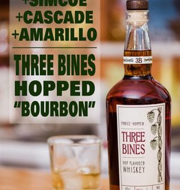 Three Bines Hop Flavored Whiskey