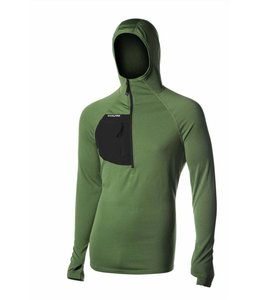 NW Alpine Men's Spider Hoody- Green- S