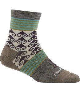 Darn Tough Women's Swirl Print Light Shorty Sock