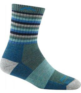 Women's Stripes Micro Crew Cushion Sock