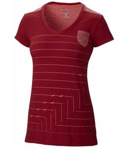 Mountain Hardwear Women's DrySpun GeoStripe Short Sleeve T