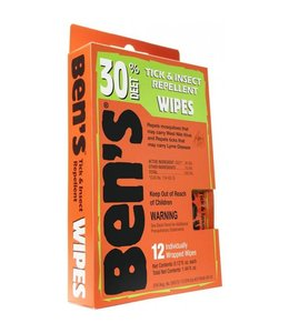 Ben's Ben's 30 Insect and Tick Repellent Wipes