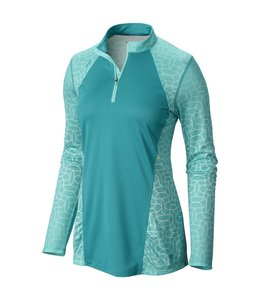 Mountain Hardwear Women's Wicked Electric Long Sleeve Zip