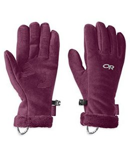 Outdoor Research Women's Fuzzy Gloves - F2015 Closeout