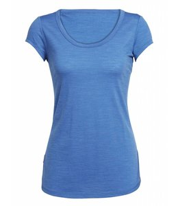 Icebreaker Women's Cool-Lite Spheria Short Sleeve Scoop