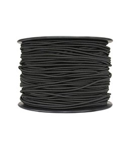 "Sterling 1/8"" (3mm) Shock Cord Black (by the foot)"