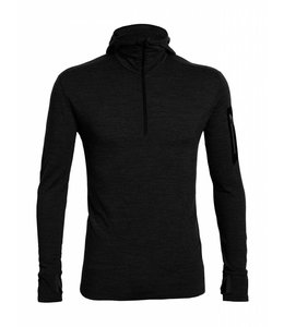 Icebreaker Men's Compass Long Sleeve Half Zip Hood