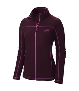 Mountain Hardwear Women's Microchill Jacket- Purple- XS