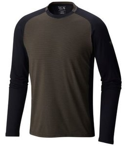 Mountain Hardwear Men's Butterman Crew-Black-L