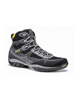 Asolo Men's Reston WP Hiking Boots- Graphite/Black-8