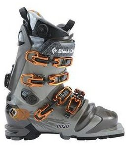 Black Diamond Push Telemark Ski Boots Java 24.5 - 2012 Closeout