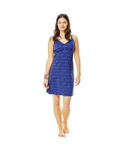 Carve Designs Women's Gansett Dress- Anchor Sahara-XL