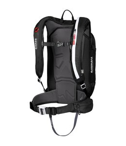 Mammut Ride Protection Airbag Pack, Black/White, 30L