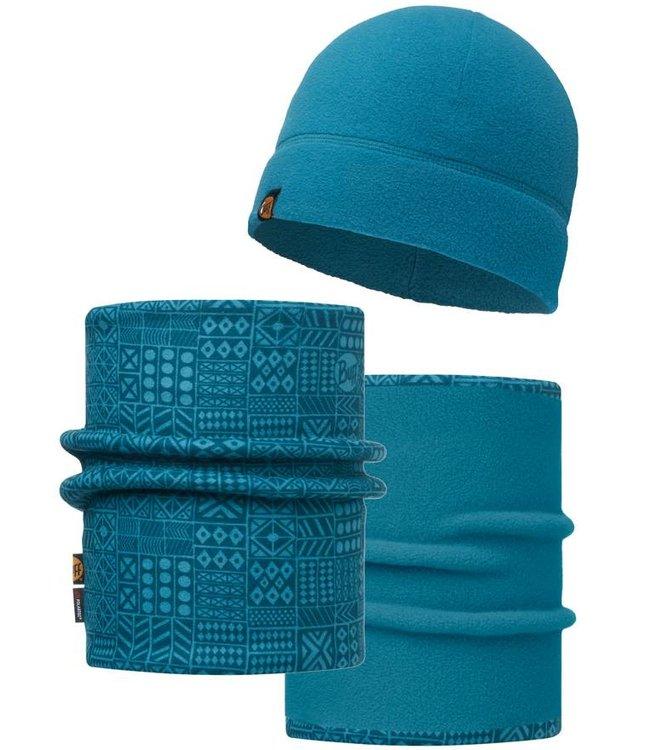 Buff Polar Hat and Neckwear Set - Alpenglow Adventure Sports 3b8556d8cee