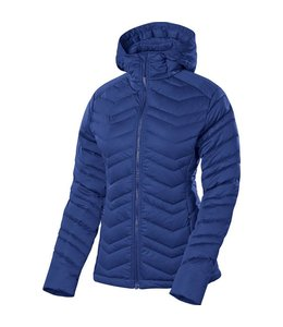 Sierra Designs Women's Stretch DriDown Hoody- Blue- XS