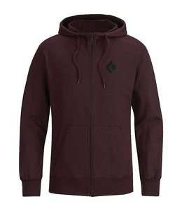 Black Diamond Men's Full Zip Logo Hoody- F2016 Closeout