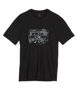 Icebreaker Men's Tech Lite Short Sleeve Graphic Crew