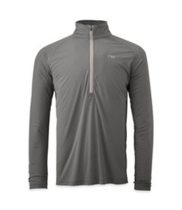 Outdoor Research Men's Echo Long Sleeve Zip Tee