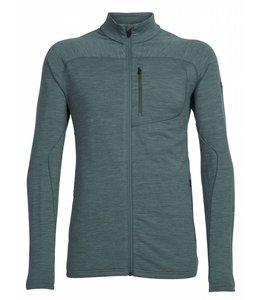 Icebreaker Men's RealFLEECE Mt Elliot Long Sleeve Zip