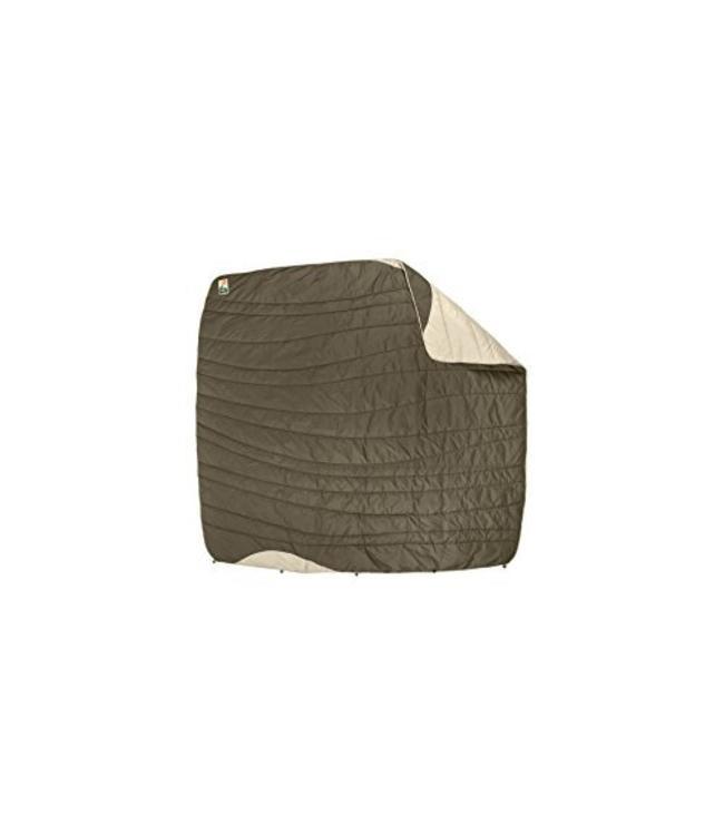 Nemo Puffin Luxury Blanket- Walnut/Oak