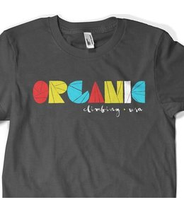 Organic Climbing Block Print T-Shirt