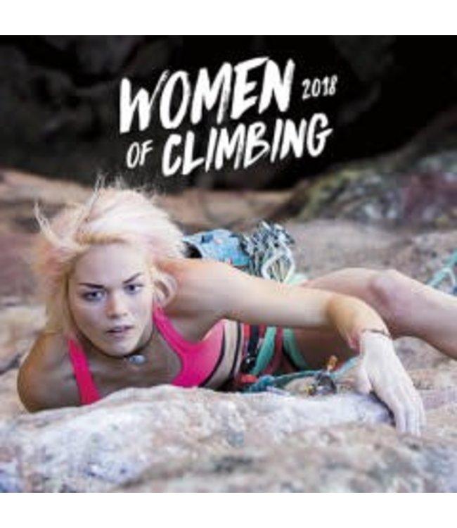 Women of Climbing 2018 Wall Calendar