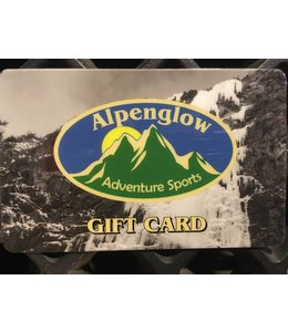 Alpenglow and AMGCS Gift Cards