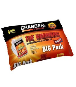 Grabber Toe Warmer- 8 Pair Pack