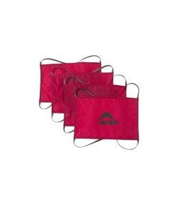 MSR Sand/Snow Stake Kit Red