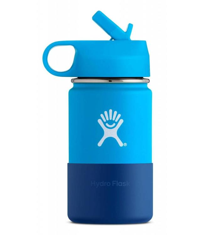 Hydro Flask 12 oz Kids Water Bottle with Straw