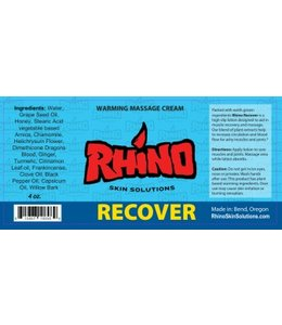 Rhino Skin Solutions Recover Warming Massage Cream