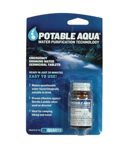 Potable Aqua Potable Aqua Drinking Water Germicidal Tablets