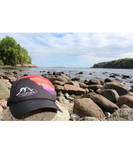 Acadia Mountain Guides Alpenglow/AMG Foam Trucker Hat