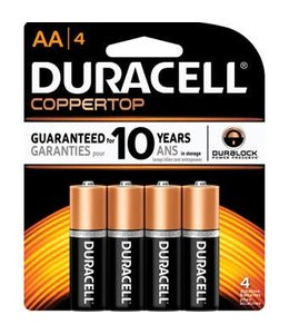 Coppertop Batteries AA 4 Pack